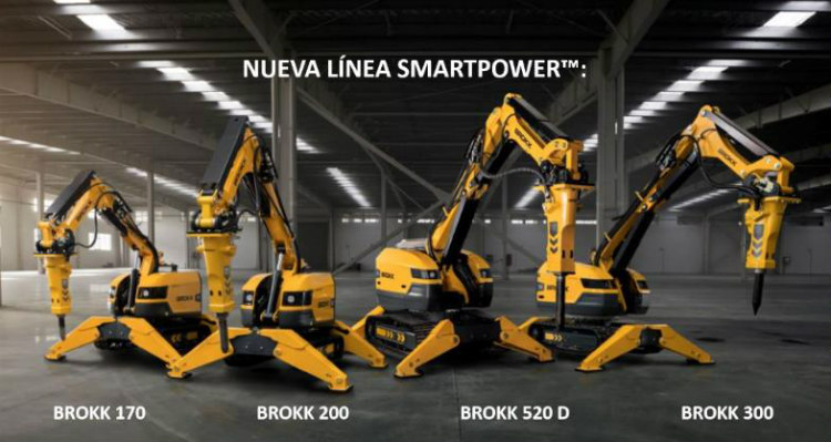 Desde inicios del 2019, SOCOMAQ representa en Chile a dos desarrolladores de equipos robotizados de demolición e hidrodemolición: BROKK y AQUAJET SYSTEMS.
