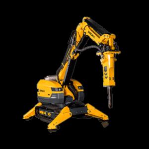 Robot de demolición Brokk 520D