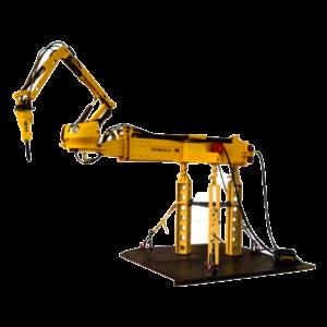 Robot de demolición Brokk Descaler